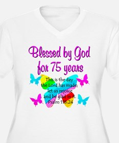 75 YR OLD ANGEL T-Shirt