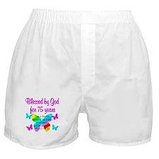 75 YR OLD ANGEL Boxer Shorts