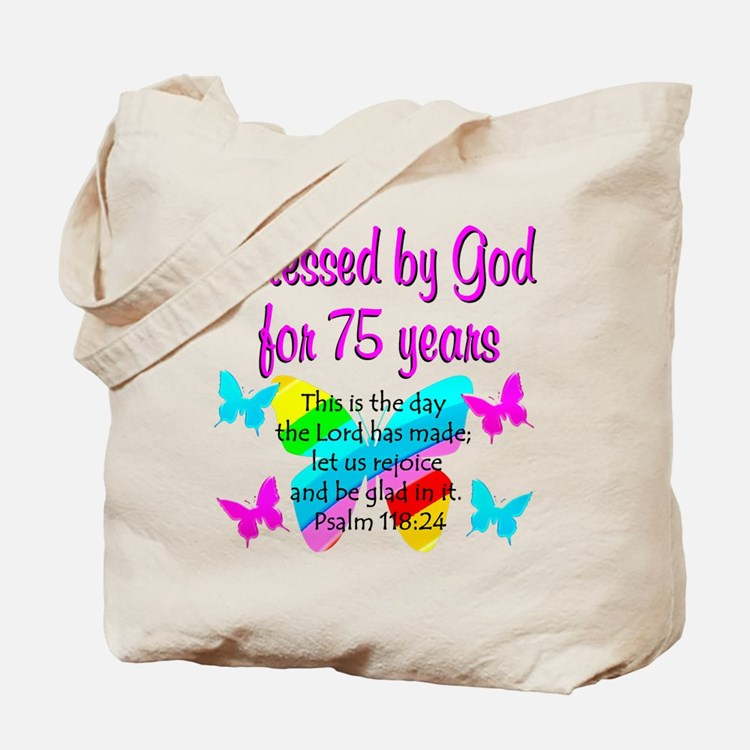75 YR OLD ANGEL Tote Bag