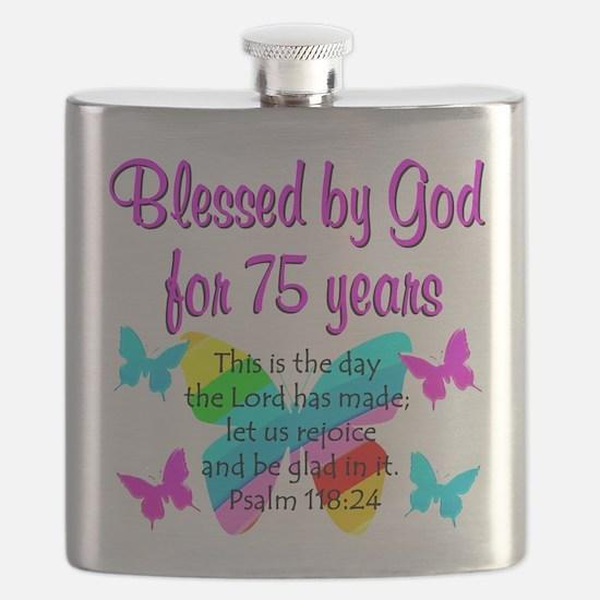 75 YR OLD ANGEL Flask