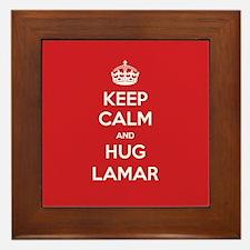 Hug Lamar Framed Tile