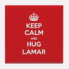 Hug Lamar Tile Coaster