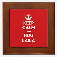 Hug Laila Framed Tile