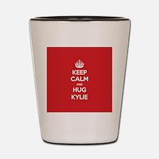Hug Kylie Shot Glass