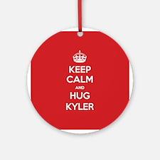 Hug Kyler Ornament (Round)