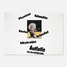 2-al autism.png 5'x7'Area Rug