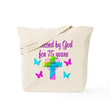 75TH LOVE GOD Tote Bag