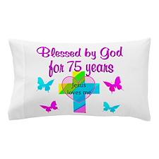 75TH LOVE GOD Pillow Case