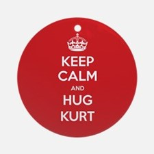 Hug Kurt Ornament (Round)