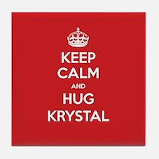 Hug Krystal Tile Coaster