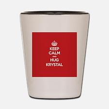 Hug Krystal Shot Glass
