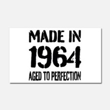 1964 Aged to perfection Car Magnet 20 x 12
