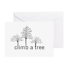 Climb a Tree - Greeting Card