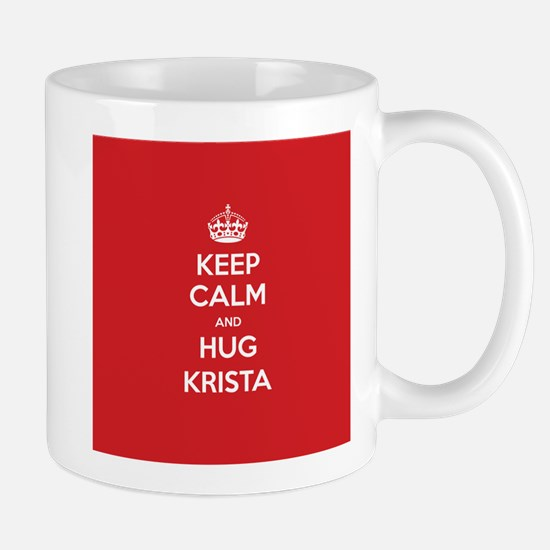 Hug Krista Mugs