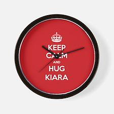 Hug Kiara Wall Clock