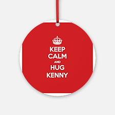 Hug Kenny Ornament (Round)