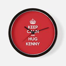 Hug Kenny Wall Clock