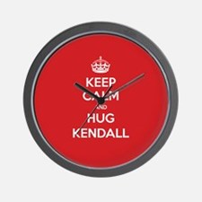Hug Kendall Wall Clock