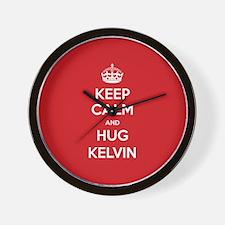 Hug Kelvin Wall Clock