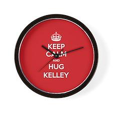 Hug Kelley Wall Clock