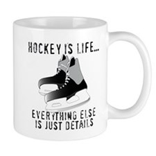 Ice Hockey is Life Mugs