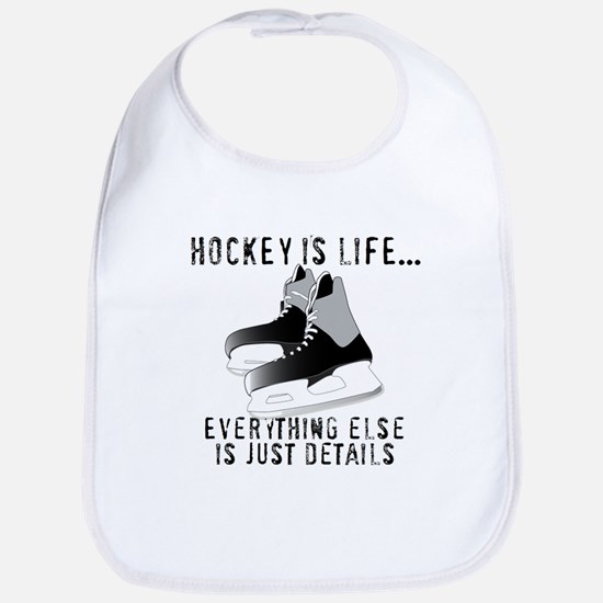 Ice Hockey is Life Bib