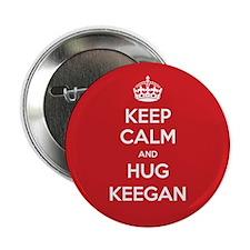 "Hug Keegan 2.25"" Button"