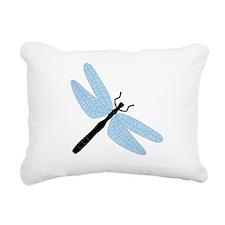 Dragonfly - Rectangular Canvas Pillow