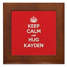 Hug Kayden Framed Tile