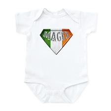 Magee Irish Superhero Infant Bodysuit