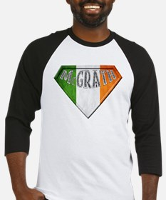 McGrath Irish Superhero Baseball Jersey