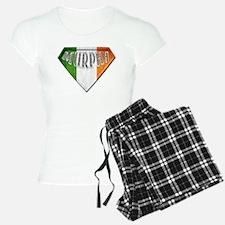 Murphy Irish Superhero Pajamas