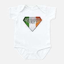 Murphy Irish Superhero Infant Bodysuit
