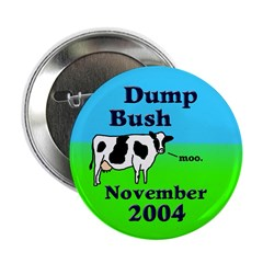 Dump Bush Moo Cow Button