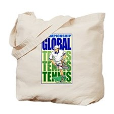 Tennis Global Tote Bag