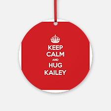 Hug Kailey Ornament (Round)