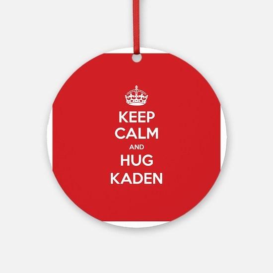 Hug Kaden Ornament (Round)