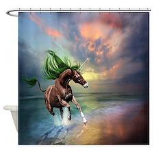 Unicorn Stallion Shower Curtain