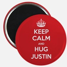 Hug Justin Magnets