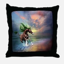 Unicorn Stallion Throw Pillow