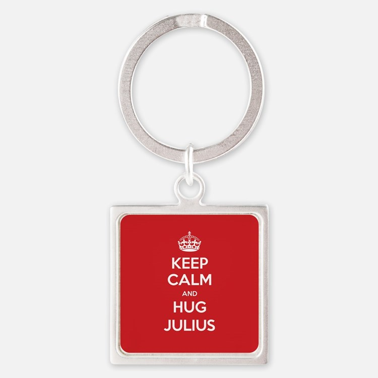 Hug Julius Keychains