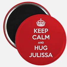 Hug Julissa Magnets