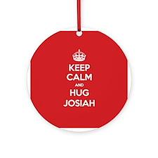 Hug Josiah Ornament (Round)