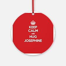 Hug Josephine Ornament (Round)
