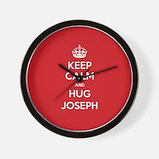 Hug Joseph Wall Clock