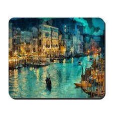 Venice Painting Mousepad
