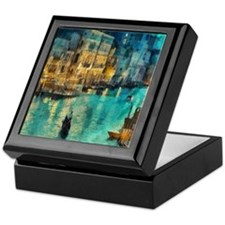 Venice Painting Keepsake Box