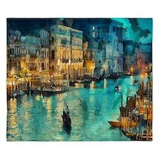 Venice Painting King Duvet
