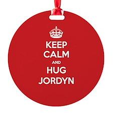 Hug Jordyn Ornament