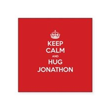 Hug Jonathon Sticker